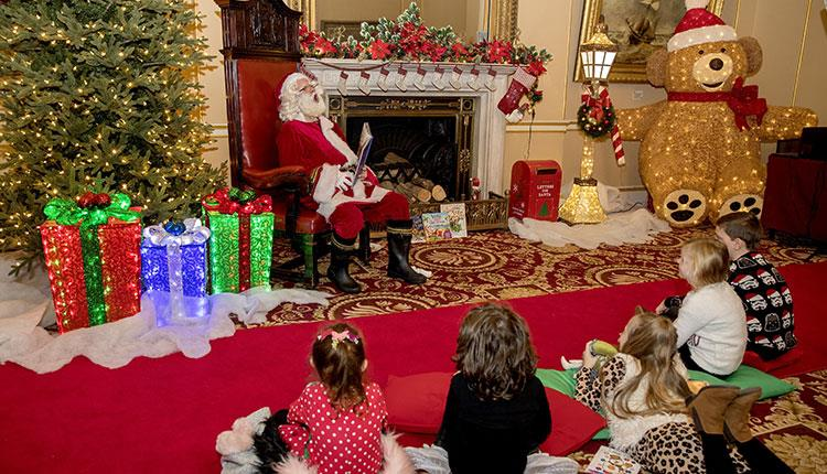 10 Reasons to Visit Liverpool in December  - storytime with santa