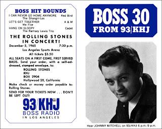 KHJ Boss 30 No. 18 - Johnny Mitchell