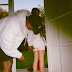 Look at that butt! Kanye West checks out wife's backside