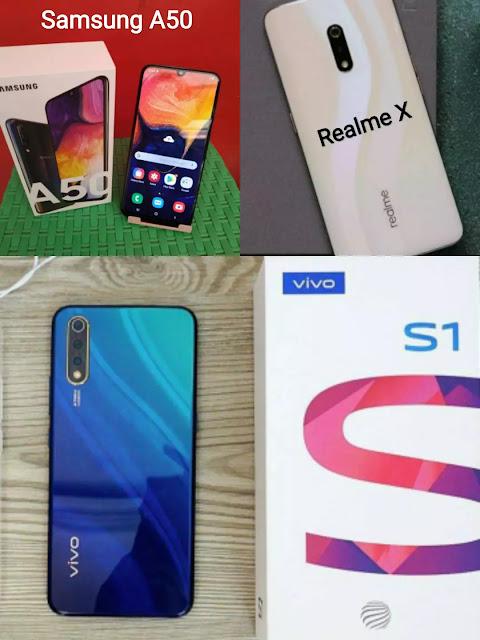Vivo S1 vs Realme X vs Samsung Galaxy A50: worth in India, Specifications Compared