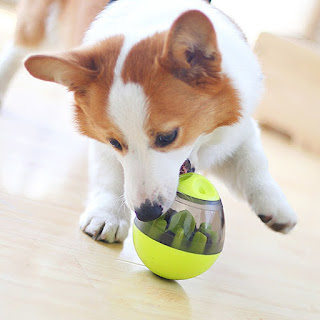 Interactive Pet Food Dispenser Toy