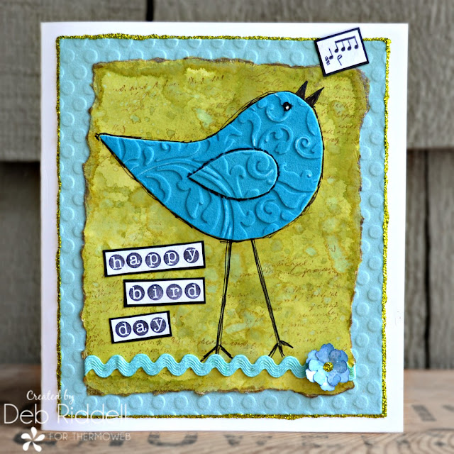 Happy Bird Day Card