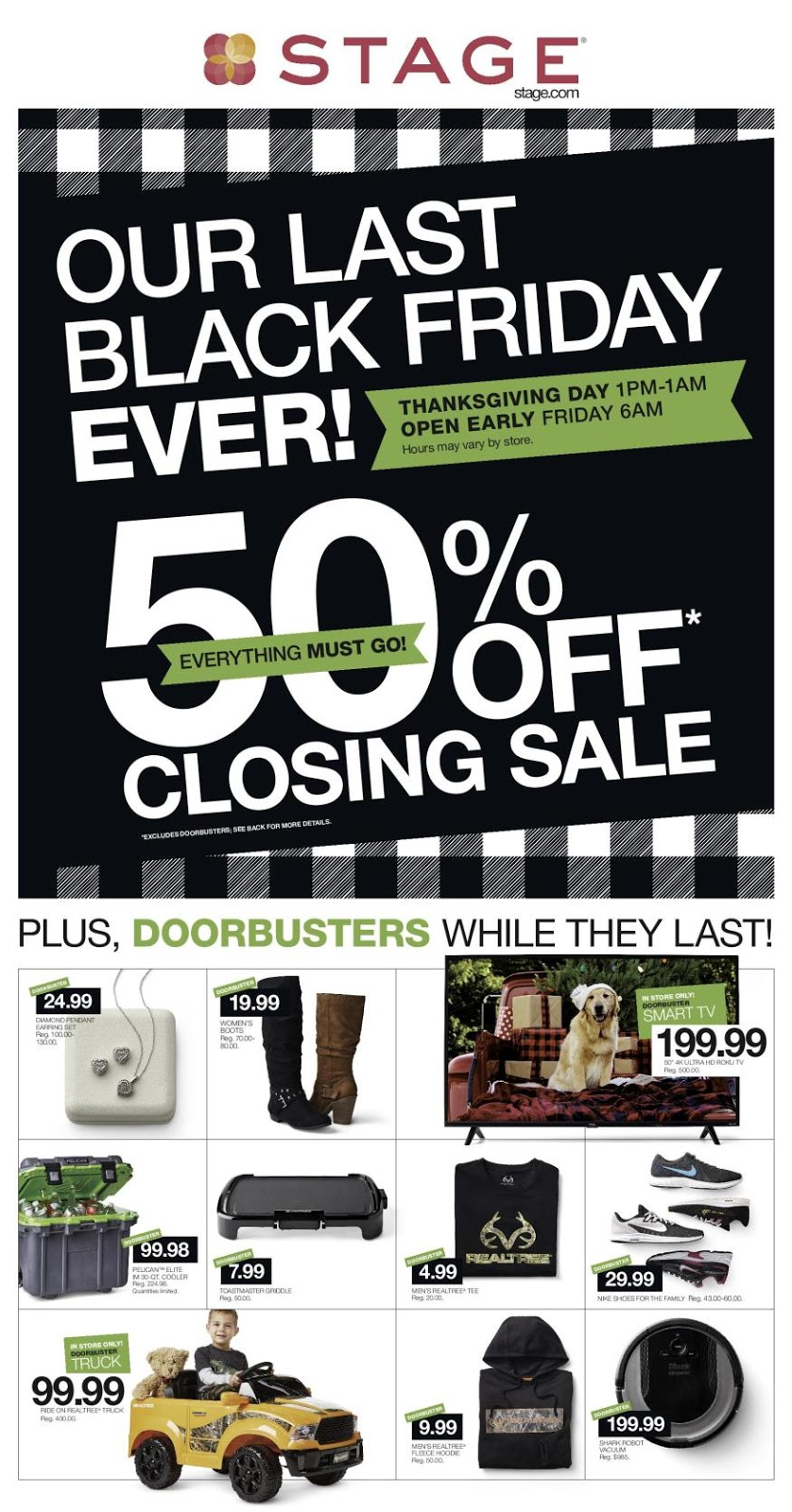 Stage Stores Black Friday