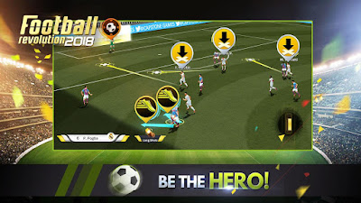 Tampilan Game Soccer Revolution 2018 Android