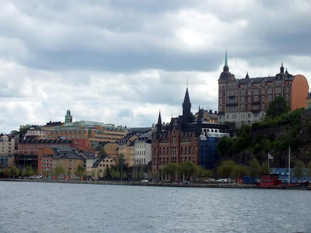 vistas crucero Estocolmo
