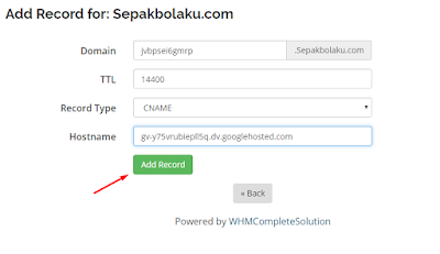 TUTORIAL Mengganti Domain Blog dengan Domain Sendiri 50