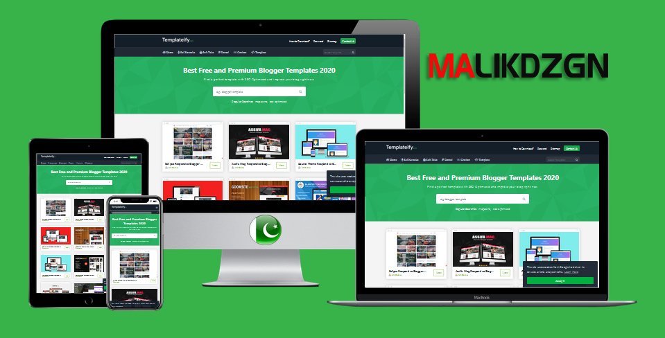 Malikdify Redezign Blogger Template Made In Pakistan