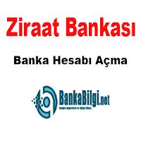 ziraat bankası banka hesabı açma