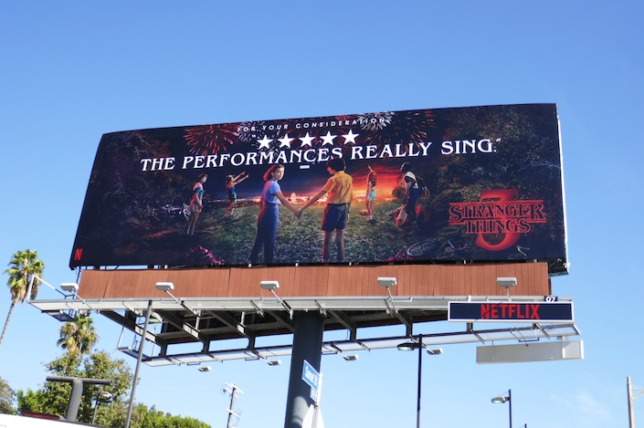 Stranger Things 3 consideration billboard