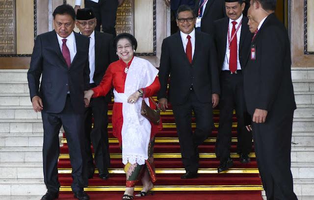 Megawati-Prabowo Harmonis, Pimpinan DPR Solid