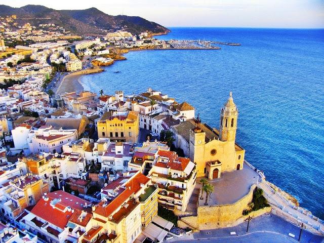 Sitges na Catalunha