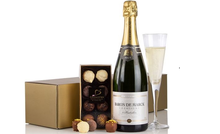 Champagne and Chocolates from Virginia Hayward