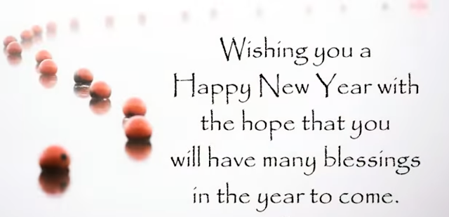 Happy New Year Greetings Image