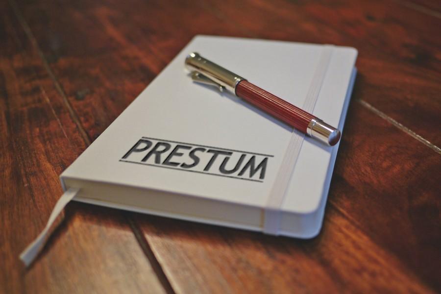 Prestum Mock Brand Notebook
