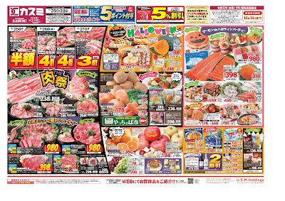 【PR】フードスクエア/越谷ツインシティ店のチラシ10月25日号