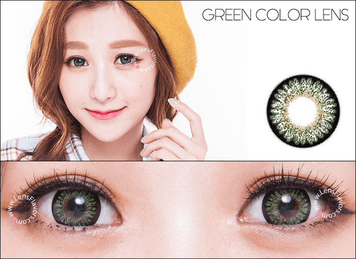 geo princess mimi green circle lenses