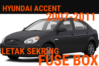 fusebox hyundai accent 2007-2011