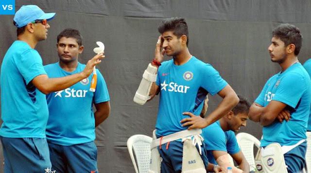 Rahul Dravid Coaching To Under 19