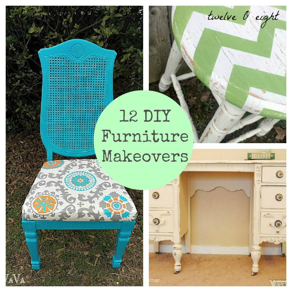 12 Do It Yourself Furniture Makeovers