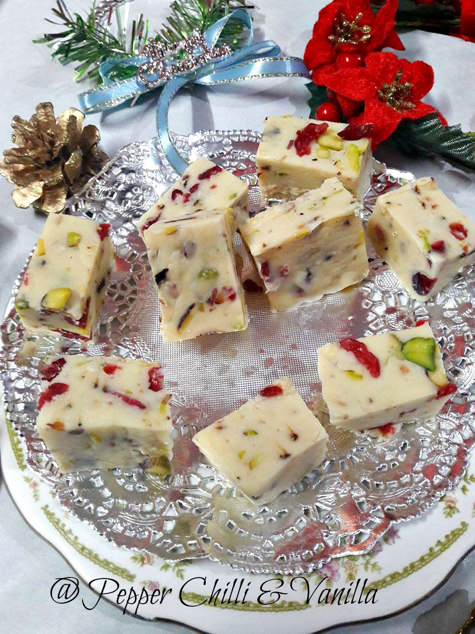 pistachio fudge recipe condensed milk