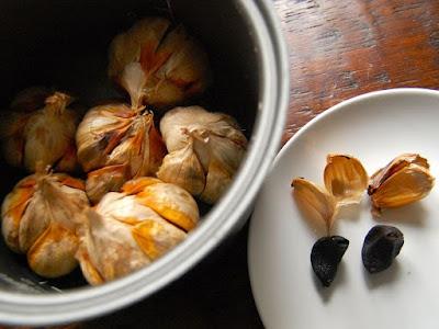 Cara Membuat Black Garlic dengan Rice Cooker