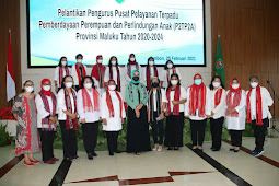 Murad Ismail Lantik Pengurus P2TP2A Maluku