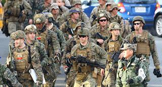 Generalii Pentagonului s-au intalnit pentru a discuta invazia Coreei de Nord