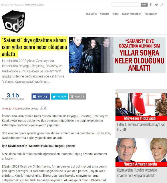 adnan oktar, akademi dergisi, içimizdeki ermenistan, masonlar, Mehmet Fahri Sertkaya, sabetayistler, sadettin tantan,ramazan ayvallı, satanistler, yankı büyüksezer,