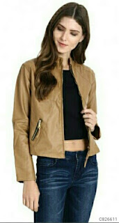 Women's Faux Leather Jackets