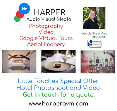 Blackpool Hotels Weekly Goings-On Shows and Events Newsletter, Sponsored by Harper Audio Visual Media