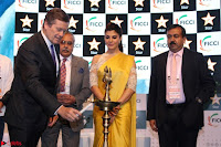 Gorgeous Jacqueline Siddharth Roy Kapur and Raj Nayak At FICCI FRAMES 2017 11.JPG