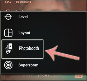 Cara Menggunakan Fitur Baru Instagram Photobooth