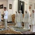 Walikota Ridho Yahya Shalat Id di Rumah