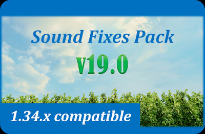 Sound Fixes Pack v19.0 - ETS2 v1.34