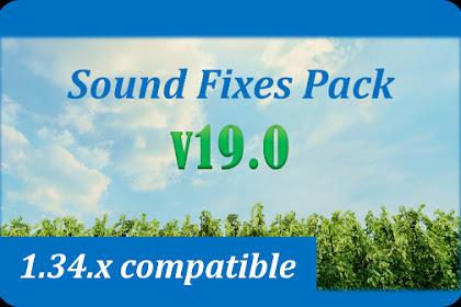 Sound Fixes Pack v19.0 - ETS2 v1.34