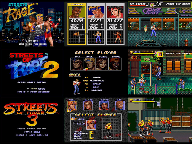Streets of Rage trilogy