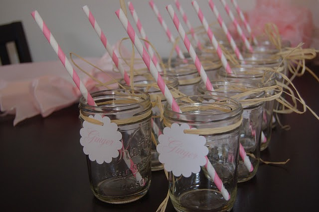 I Heart Pears: Baby shower drink ideas