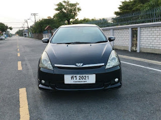 TOYOTA WISH 2.0 Q LIMITED ปี 2004 โฉม ปี04-10 Airbag-Abs ศร2021