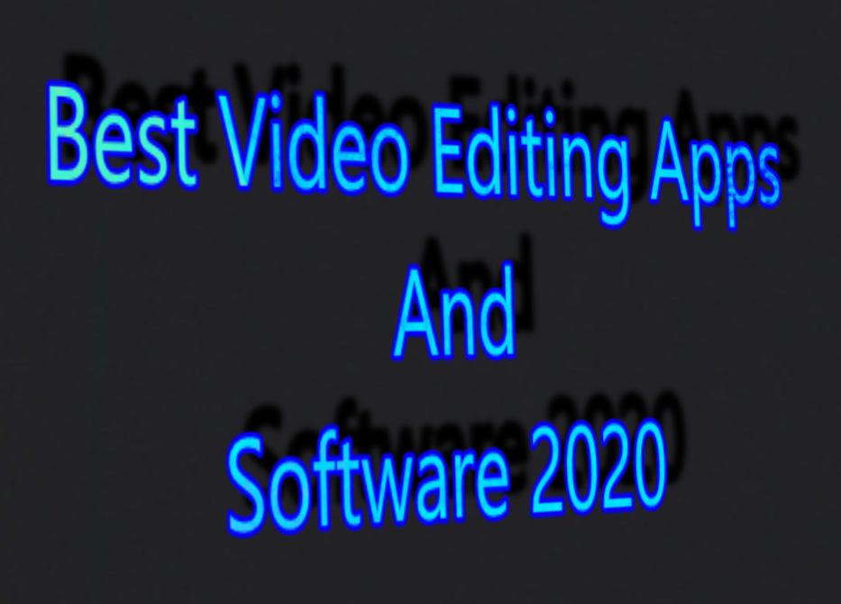 software for video editing free