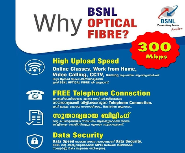BSNL back on track, added 14 lakh Bharat Fiber (FTTH) Broadband connections in May 2021