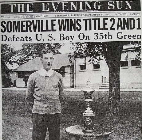 Sandy Somerville newspaper cover
