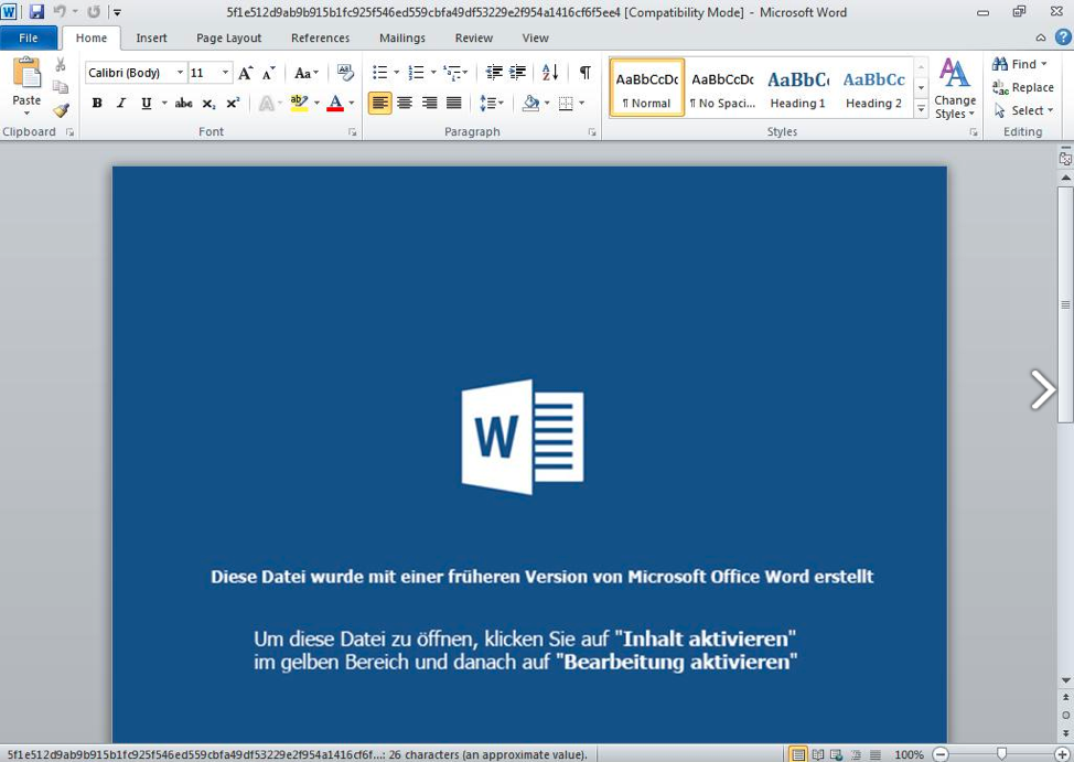 - word 2Bdoc - New Hacking Group Install Backdoor On Windows By Exploiting MS Office