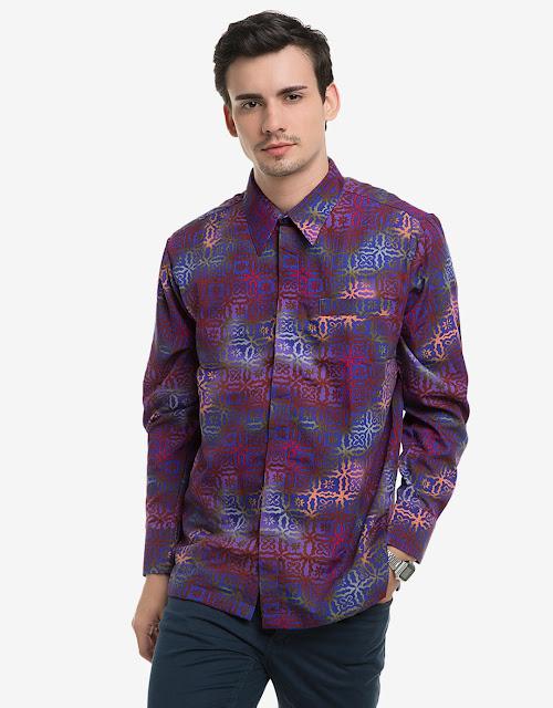 Koleksi Baju Batik Pria Lengan Panjang