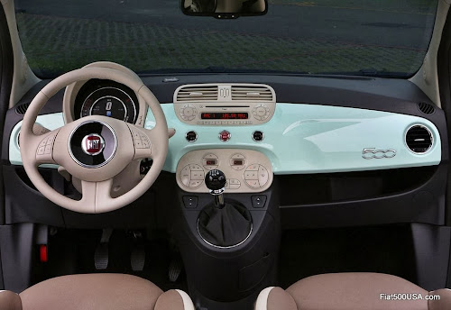 Fiat 500 Cult dashboard