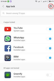 Cara gampang mengunci aplikasi android bbm Cara gampang mengunci aplikasi android di hp xiaomi miui7 dan 8