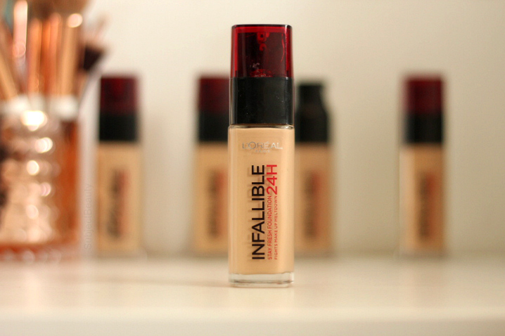 L'Oreal Paris Infallible 24H Foundation - Best Drugstore Foundation