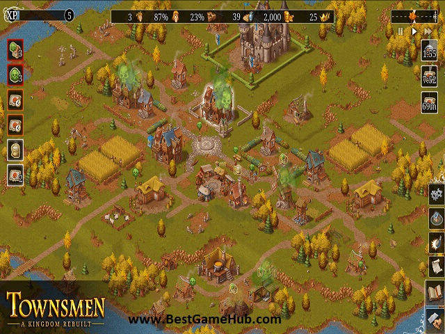 Townsmen A Kingdom Rebuilt PC Game Full Version