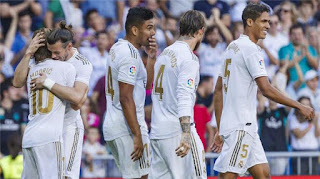 نتيجة مباراة ايبار وريال مدريد اليوم بتاريخ 09-11-2019 الدوري الاسباني