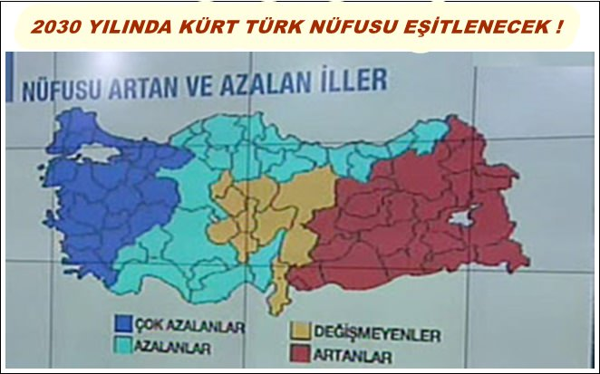 kürt nüfusu ne zaman türkler geçecek