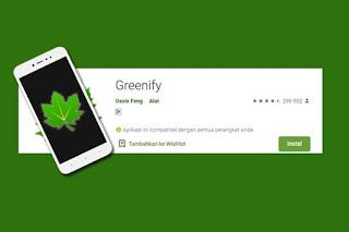cara menghemat baterai menggunakan Greenify